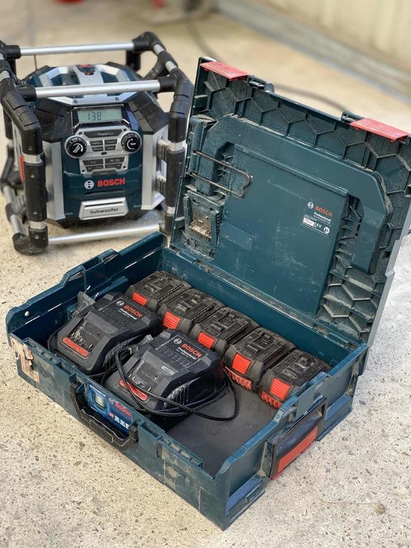 Feedback der Woche 3: Bosch Professional Akku System 18v
