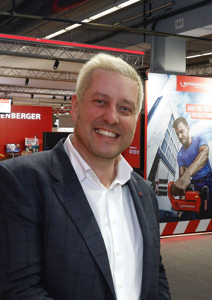 Volker Hess, Geschäftsbereichsleiter Marketing bei Rothenberger
