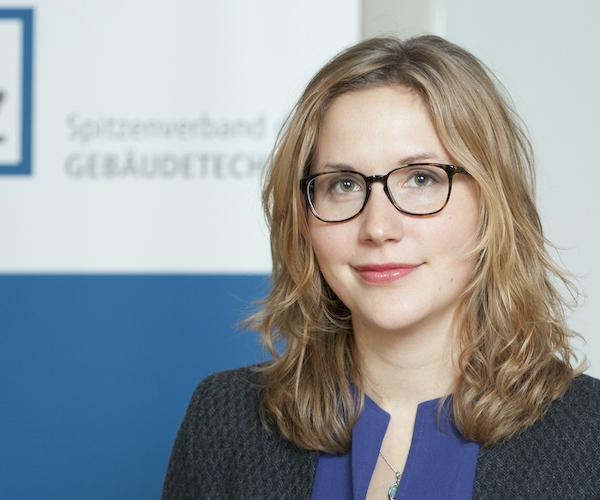 Kerstin Vogt, Geschäftsführerin VdZ, Spitzenverband Gebäudetechnik